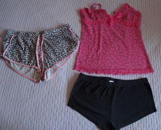 Pijama verano mujer talla XS-S