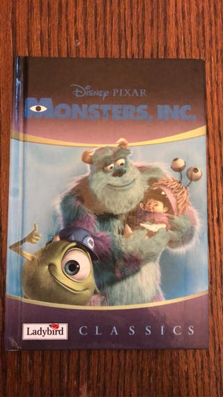 Monsters inc ladybird book