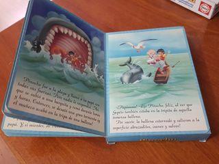 libro infantil de Pinocho