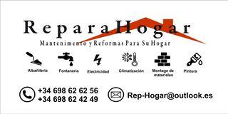 Repara Hogar | Mantenimiento y Reformas