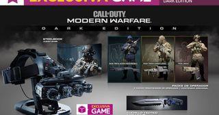 Call of Duty: Modern Warfare PS4 Dark Edition