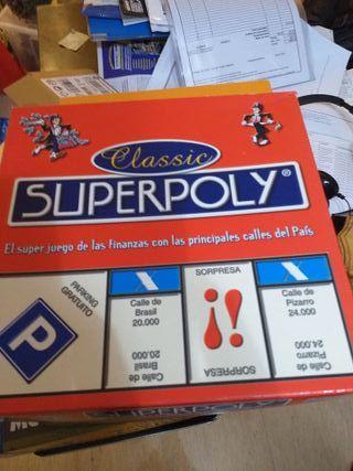 Superpoly juego mesa