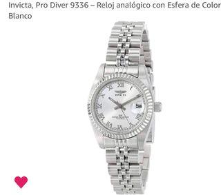 Reloj Invicta analógico mujer rolex