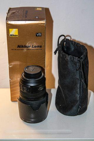 Objetivo Nikon 70-300 VR Full Frame
