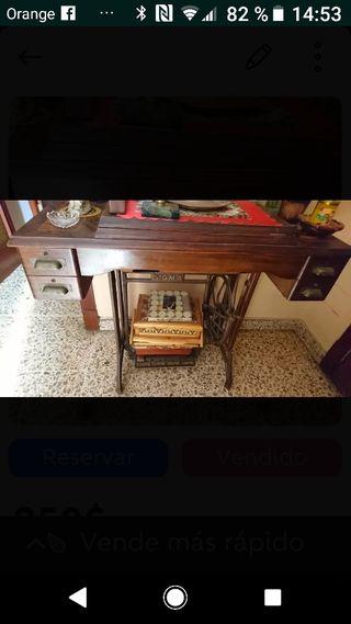 Vendo por 100 euros máquina de coser antigua