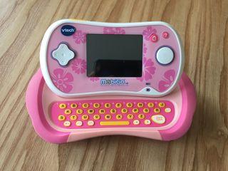 Consola educativa MoBiGo V2 color rosa de VTECH