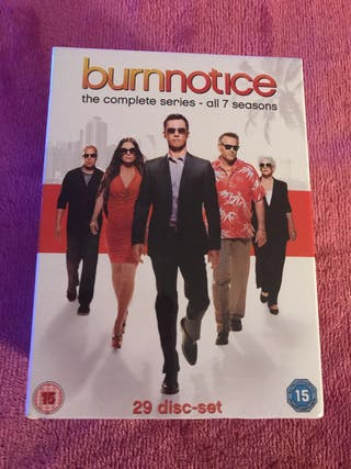 New Burn Notice Complete Box Set