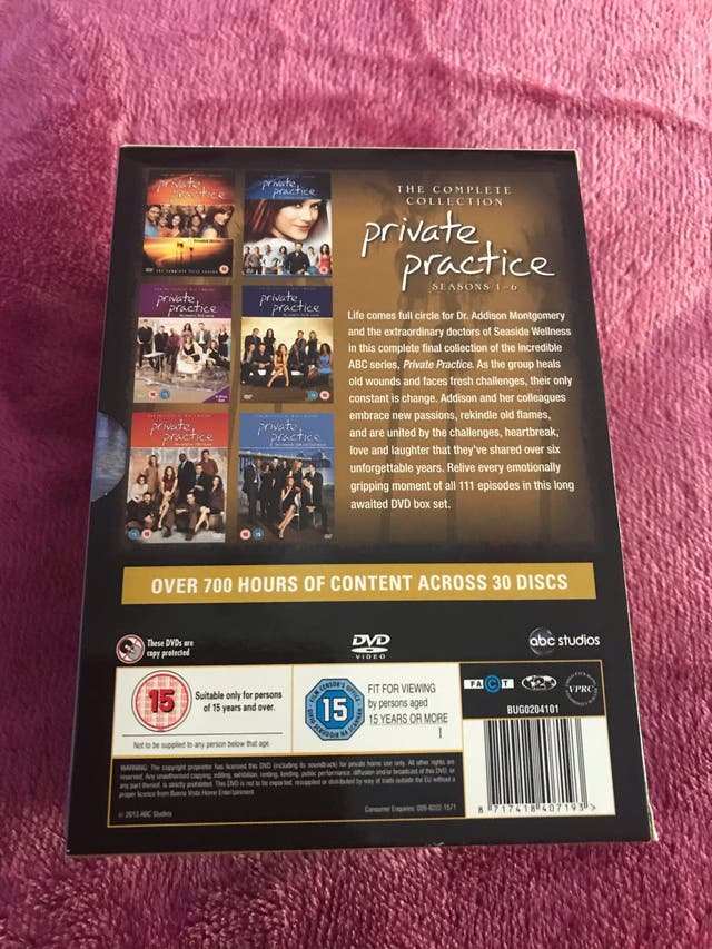 New Private Practice Complete Box Set