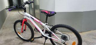 bicicleta megamo niña 20 pulgadas.