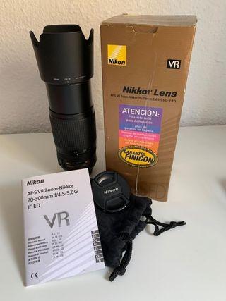 Objetivo Nikon 70-300 VR