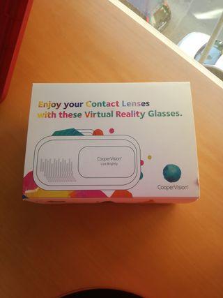 gafas de realidad virtual sin estrenar
