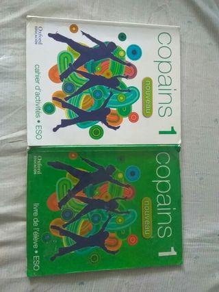 Libros Texto Francés Copains 1° ESO, Oxford