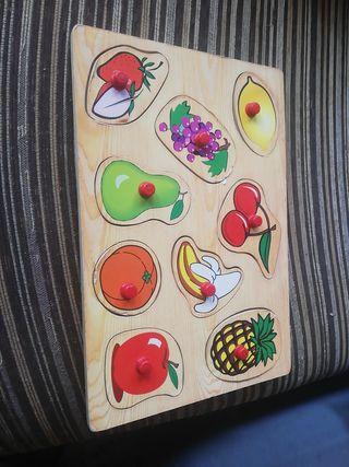 puzzle de frutas