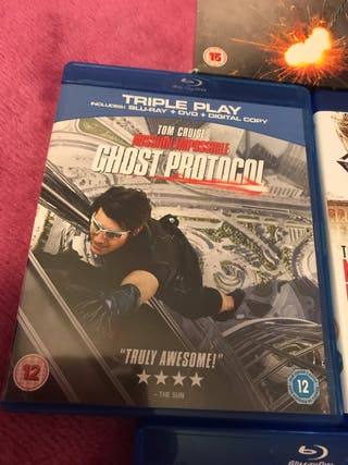 Mission Impossible 1-6 Blu Ray Bundle
