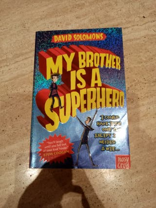 libro My Brother is a superhero