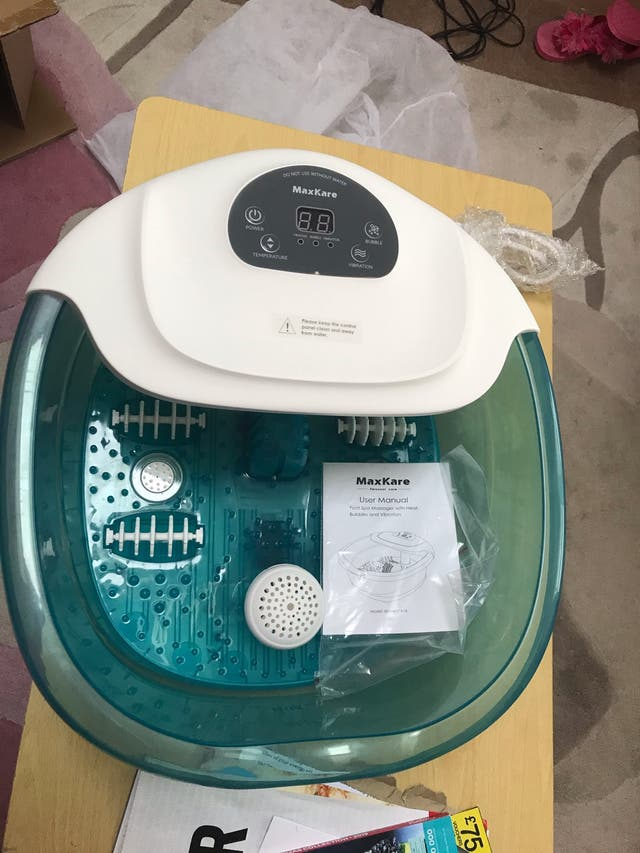 New 3 In 1 Foot Spa