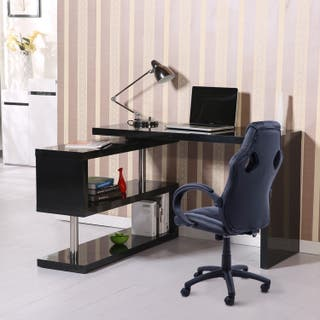 Conjunto Mesa Escritorio + Silla Gaming de Oficina