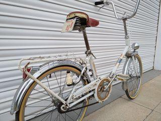 Bicicleta bh plegable con matricula