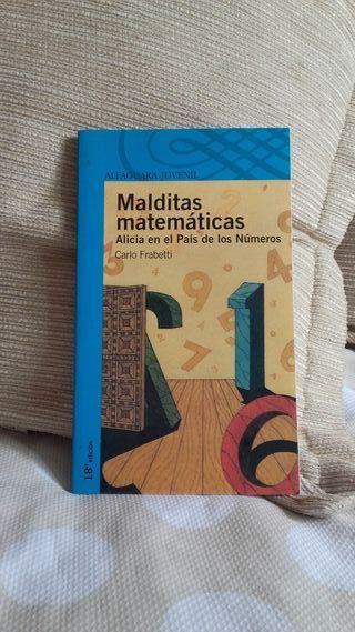 LIBRO LECTURA INFANTIL MALDITAS MATEMÁTICAS