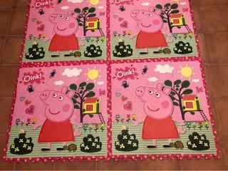 Alfombra foam Peppa Pig
