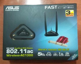 Tarjeta de red / ASUS PCE-AC56 (Adaptador WiFi)
