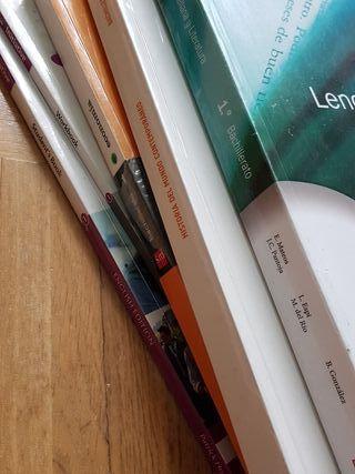 Libros 1 de Bachillerato-Humanidades