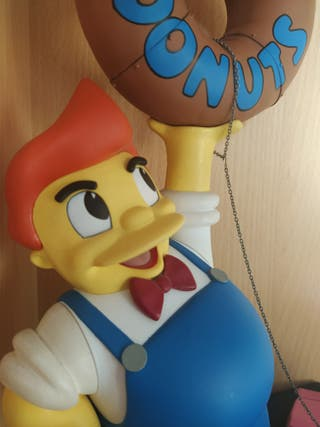 LOS SIMPSONS LARD LAD DONUTS - McFarlane Toys