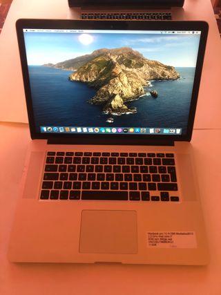 MacBook Pro 15 pulgadas retina