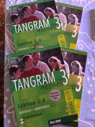 Tangram Aktuell 3 - libros cuadernillos cds