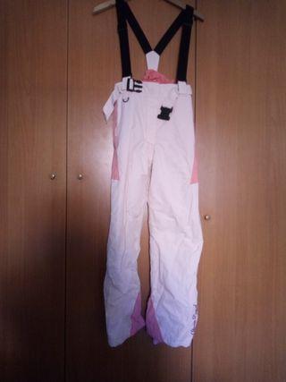 Pantalón nieve niña talla 11-12
