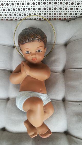 Antigua figura de Niño Jesús