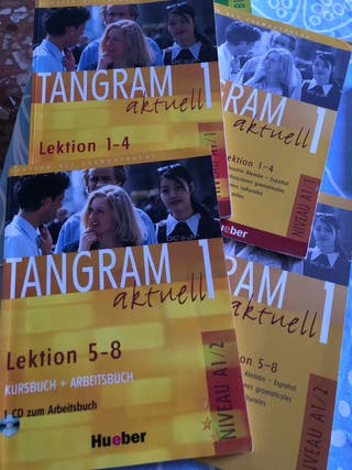 Tangram Aktuell 1 Completo libros cuadernillos cds