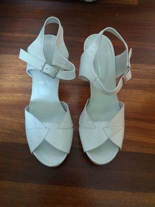 Sandalia de novia o ceremonia