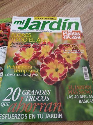 Revistas Nuevas sin usar Mi Jardin