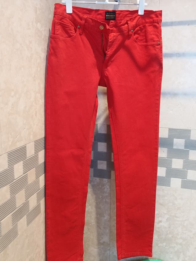 Pantalones Zara Hombre De Segunda Mano Por 20 En Varea En Wallapop
