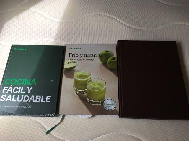 3 libros de thermomix