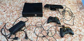 XBOX X360S con Kinect y muchos juegos
