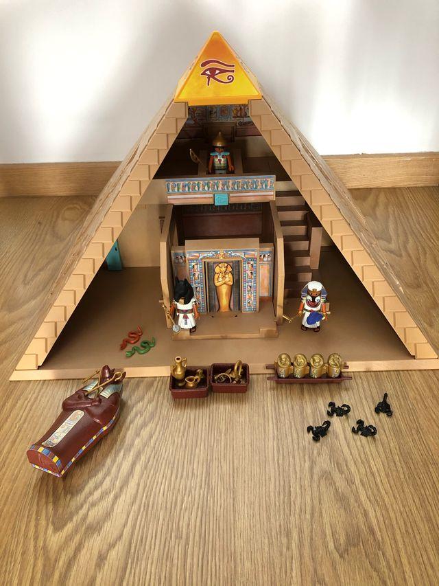Playmobil pirámide de Egipto