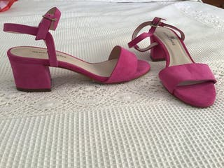 Sandalias de piel Gloria Ortiz