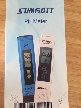 Medidor de calidad de agua