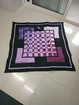 mantita / alfombra patchwork niños