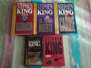 Lote libros STEPHEN KING