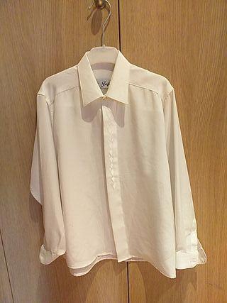 camisa de vestir de traje de comunión