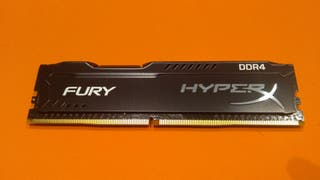 Memoria RAM HyperX Fury - 8GB DDR4 2133 CL14