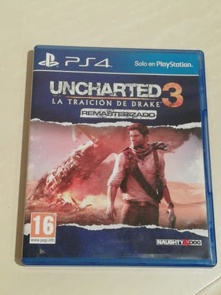Uncharted 3 remastred Ps4