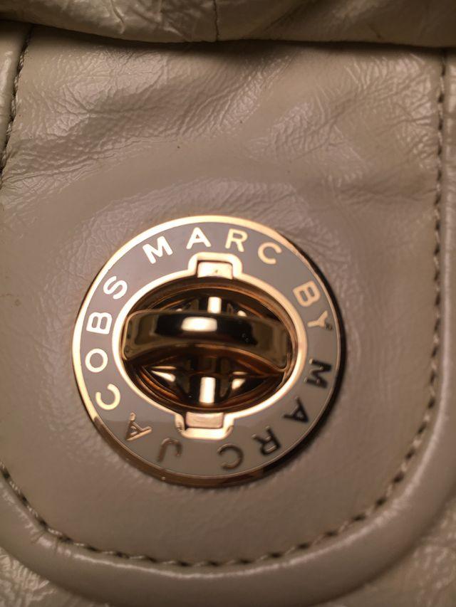 Bolso precioso Marc By Marc Jacobs blanco original