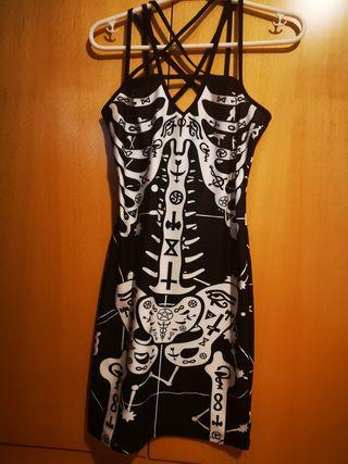 Vestido Esqueleto Halloween
