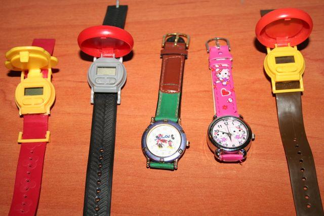 lote de 5 relojes infantiles