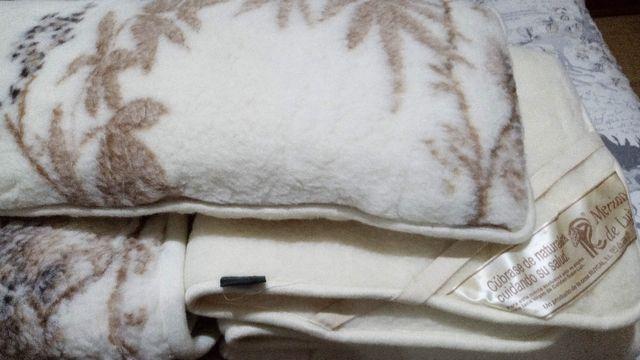Juego manta, cubrecolchon y almohada