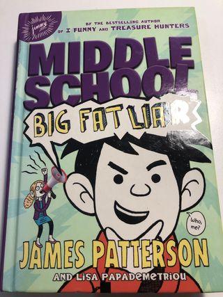 """Libro """"Middle School"""" inglés"""